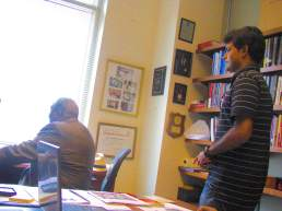 In the study of Dr. Bernard Lafayette Jr. at Emory University, Atlanta in May 2012